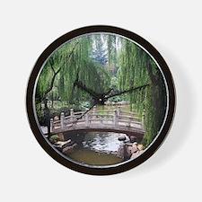 Asian garden, Wall Clock