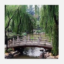 Asian garden, Tile Coaster