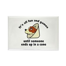 It's All Fun And Games Rectangle Magnet