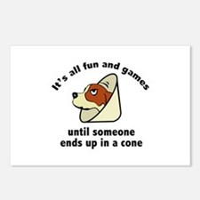 It's All Fun And Games Postcards (Package of 8)
