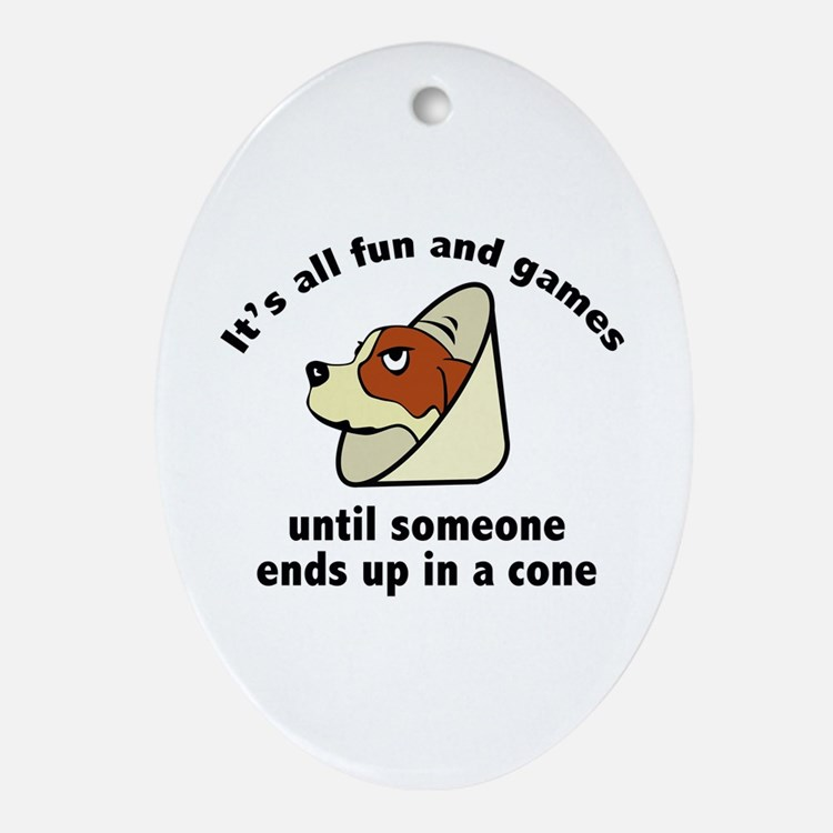It's All Fun And Games Ornament (Oval)