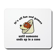 It's All Fun And Games Mousepad