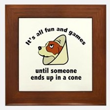 It's All Fun And Games Framed Tile