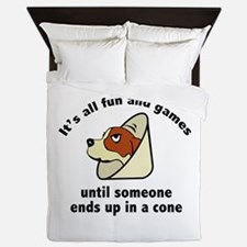 It's All Fun And Games Queen Duvet