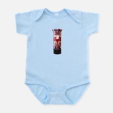 Union Jack Post Box Infant Bodysuit