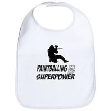 Paintball is my Superpower Bib