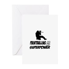 Paintball is my Superpower Greeting Cards (Pk of 2