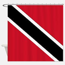 Trinidad and Tobago Flag Shower Curtain