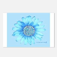 Pop Art Flowers Postcards (Package of 8)