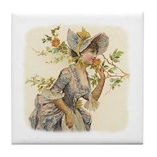 Victorian Blossom Art Tile