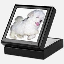 Unique Maltese puppy Keepsake Box
