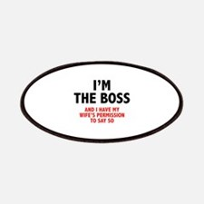 I'm The Boss Patches