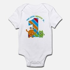 Little Monster 1st Birthday Body Suit