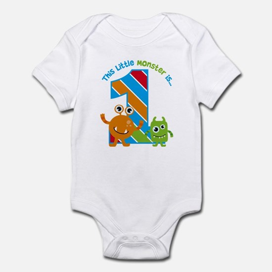 Little Monster 1st Birthday Body Suit