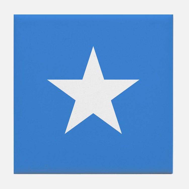 Flag of Somalia Tile Coaster