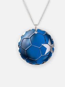 Somalia Football Necklace