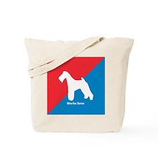 Terrier Diagonal Tote Bag
