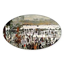 Renoir - Skaters in the Bois de Bou Decal