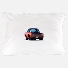 BabyAmericanMuscleCar_69_RoadR_Orange Pillow Case