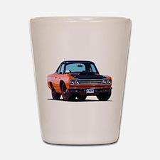 BabyAmericanMuscleCar_69_RoadR_Orange Shot Glass