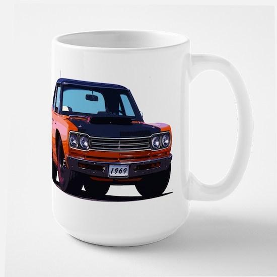 BabyAmericanMuscleCar_69_RoadR_Orange Mugs