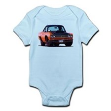 BabyAmericanMuscleCar_69_RoadR_Orange Body Suit