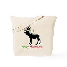 Merry Chrismoose Tote Bag