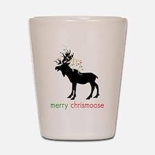 Merry Chrismoose Shot Glass