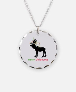 Merry Chrismoose Necklace