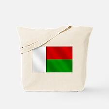 Flag of Madagascar Tote Bag