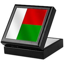 Flag of Madagascar Keepsake Box