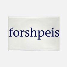 Forshpeis Rectangle Magnet