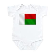 Flag of Madagascar Infant Bodysuit