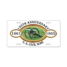 150th Anniversary - U.S. Civil War Aluminum Licens
