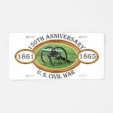 150th Anniversary - U.S. Civil War Aluminum Licens