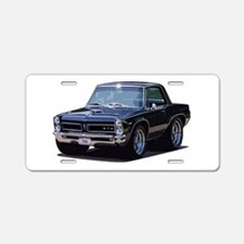 abyAmericanMuscleCar_65GTO_Black Aluminum License