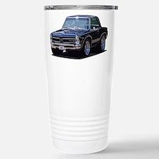 abyAmericanMuscleCar_65GTO_Black Travel Mug
