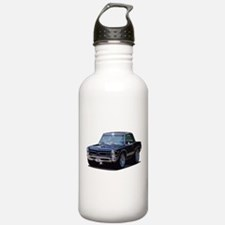 abyAmericanMuscleCar_65GTO_Black Water Bottle