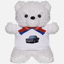 abyAmericanMuscleCar_65GTO_Black Teddy Bear