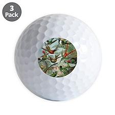 Beautiful Hummingbirds Art Golf Ball