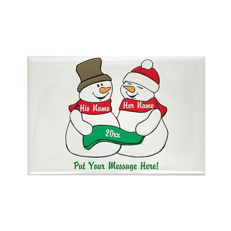 Christmas Magnets | Christmas Refrigerator Magnets - CafePress