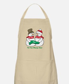 Personalize It Christmas Apron