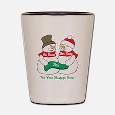 Personalize It Christmas Shot Glass