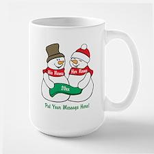 Personalize It Christmas Mugs