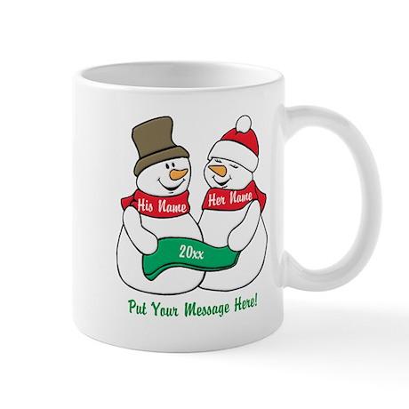 Personalized Christmas Coffee Mugs | Personalized Christmas Travel ...