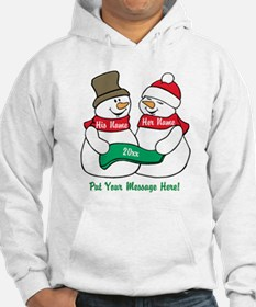 Personalize It Christmas Hoodie
