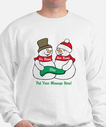 Personalize It Christmas Sweater