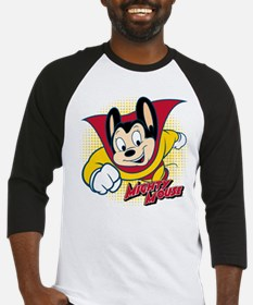 Mighty Mouse Halftone 2 Baseball Jersey
