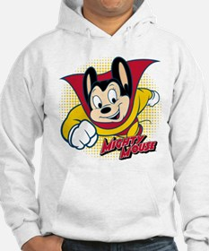 Mighty Mouse Halftone 2 Hoodie