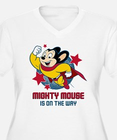 Mighty Mouse On The Way T-Shirt